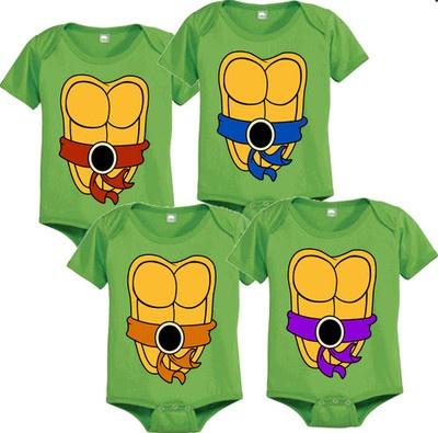 Ninja Turtle Onsies too cute!!!