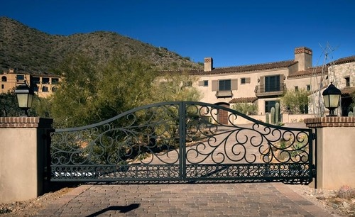 62 Best Iron Entry Gate Images On Pinterest