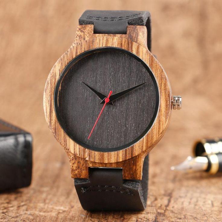 Alkaline Bamboo Watch.