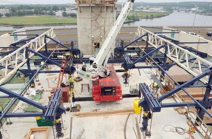 New Haven's new Q bridge gets its concrete as next phase