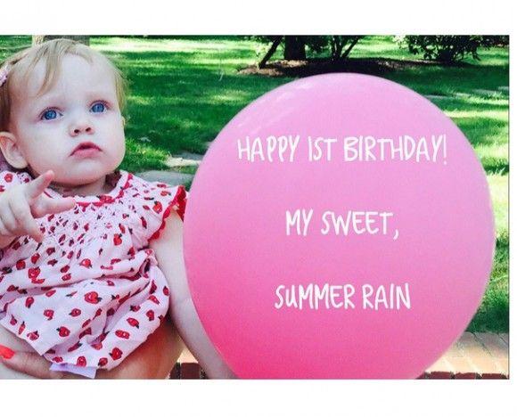 La petite Summer Rain de Christina Aguilera fête son premier anniversaire   HollywoodPQ.com