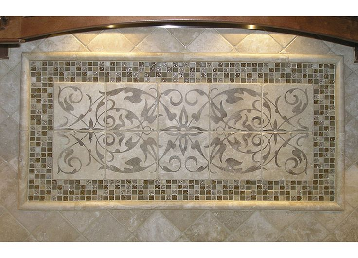 glass tiles for kitchen backsplash desk ideas elegante mural tile collection stoneimpressions.com ...