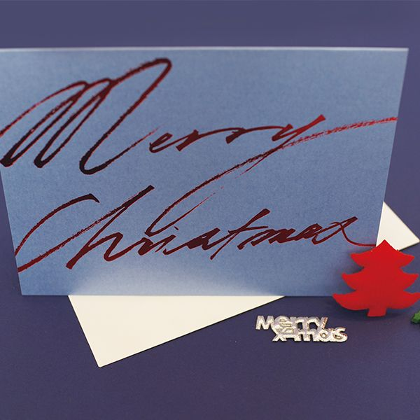 K-paper Christmas Card c15014lm