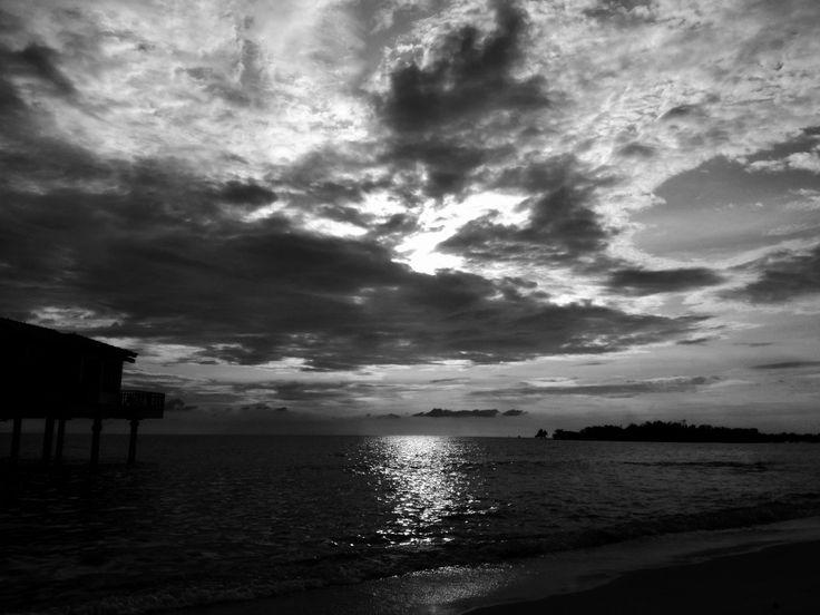 Sunset at Port Dickson. Sept 2017