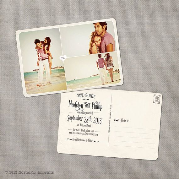 "Save the Date Postcard - the ""Madelyn 4"""