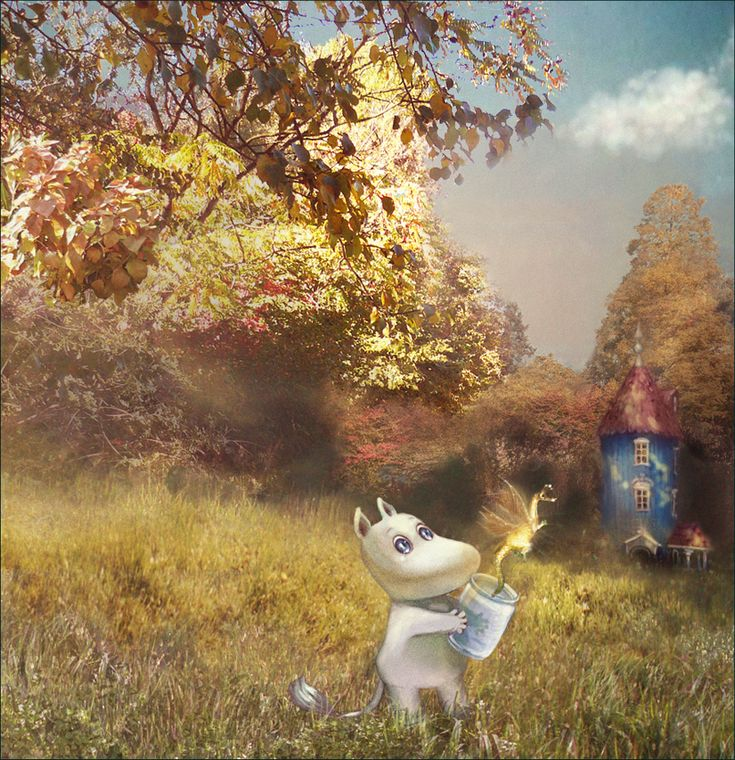 Moomin and the Last Dragon In the World.