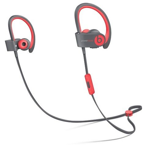 Beats Powerbeats2 Wireless In-Ear Headphones, Active Collection - Red