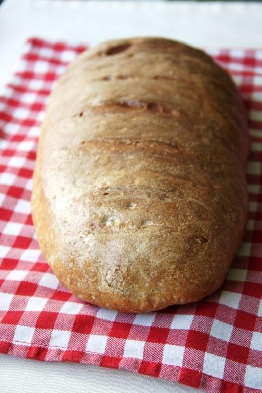 łatwy chleb pszenno-żytni
