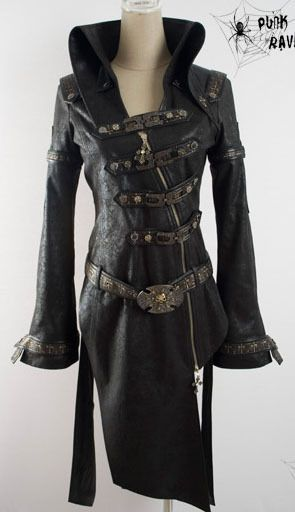 fashion punk gothic lolita steampunk rock coat blazer fashion Free ship #PUNKRAVE #BasicJacket