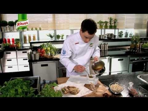 Przepis - Sajgonki, czyli naleśniki chińskie (przepisy kulinarne Przepisy.pl) - YouTube