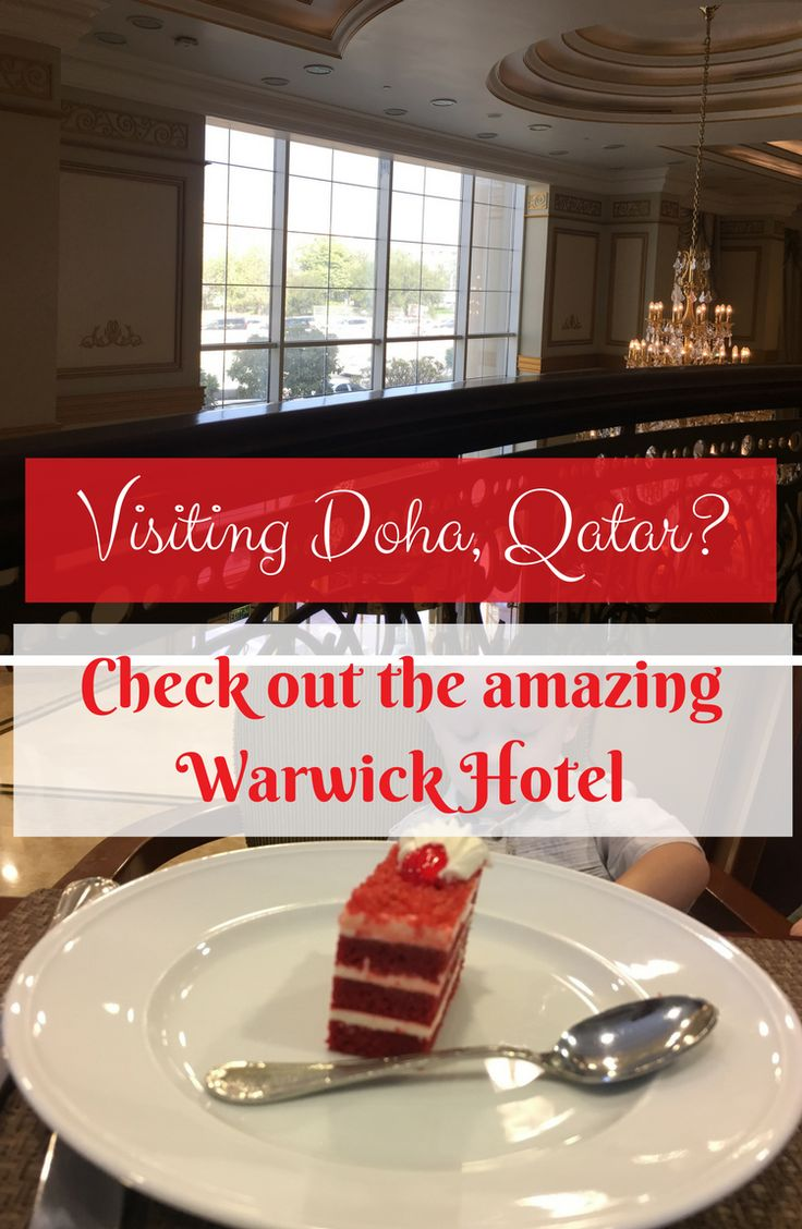 If you are thinking of visiting Doha, Qatar? If so then you should check out the incredible Warwick Hotel.