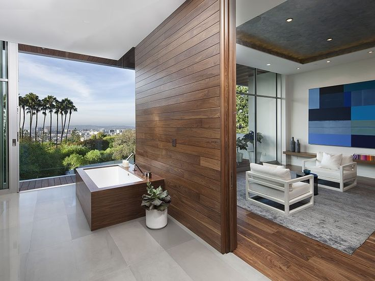Open Living Environment A Sense of Boldness and Luxury: The 1232 Sunset Plaza in California