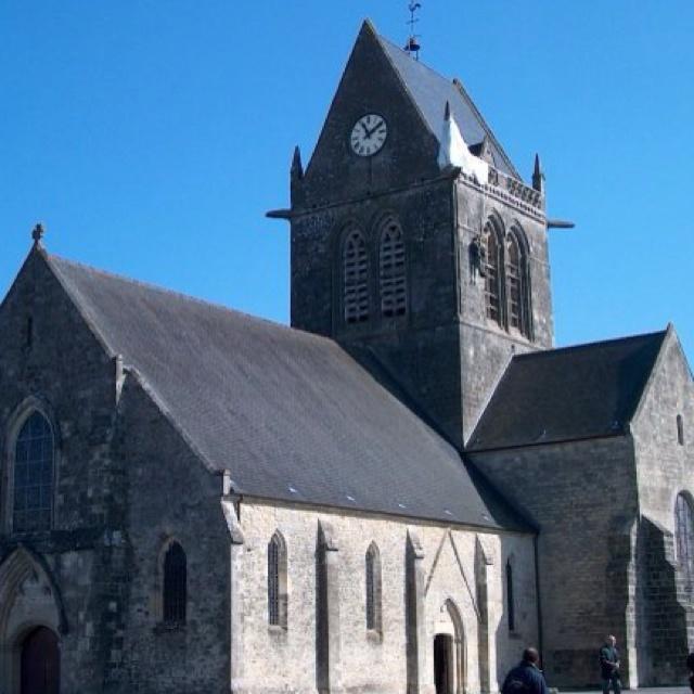 Ste-Mère-Église, Normandie, France