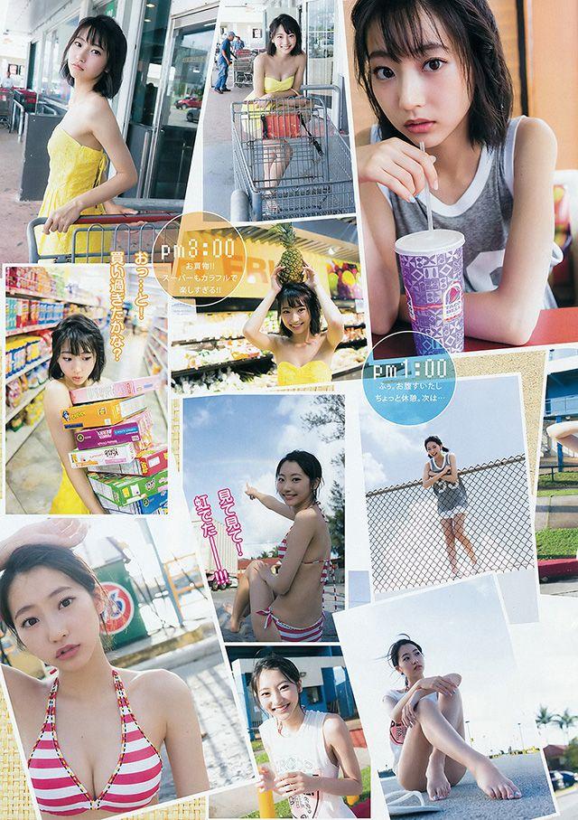 【寫真】《暗殺教室》最強短髮美女武田玲奈展示青春性感 (23P) | 劍心.回憶