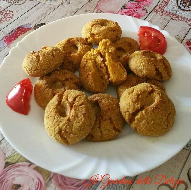 Polpette+di+verdura+mista+e+soia+al+forno