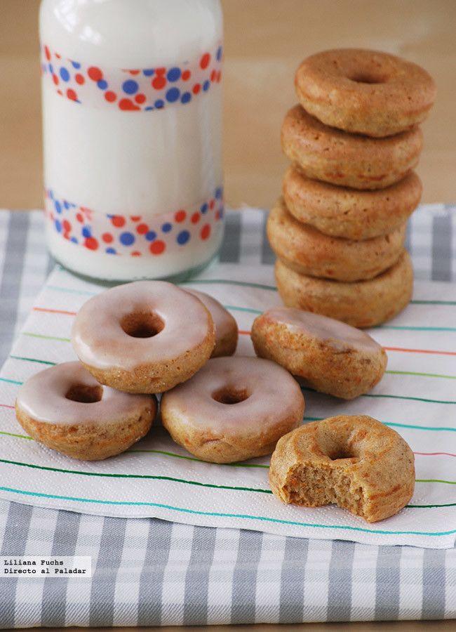 Mini Donuts de Zanahoria