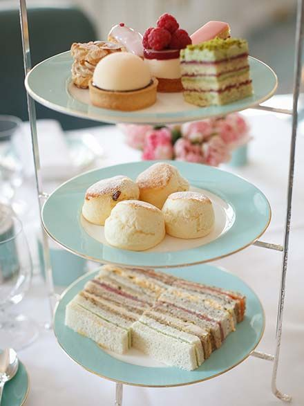 Afternoon tea at Fortnum and Mason.  Has a gluten free option.  Dream.                                                                                                                                                                                 More