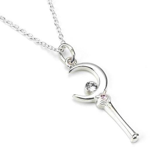 Official Japanese Premium Bandai Sailor Moon Moon Stick Necklace http://www.moonkitty.net/reviews-buy-sailor-moon-jewelry.php #SailorMoon