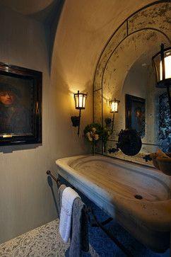 Bathroom Sinks Antique Limestone And Marble Mediterranean Style