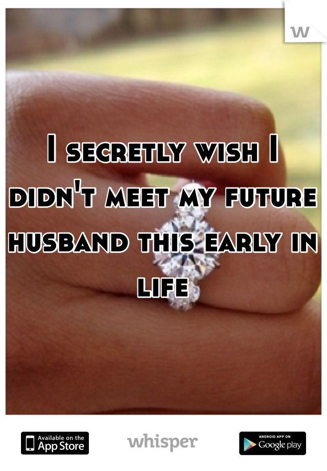 where to meet my future husband