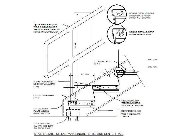 Best Metal Stair Cad Details Stairs Pinned By Www Modlar Com 400 x 300