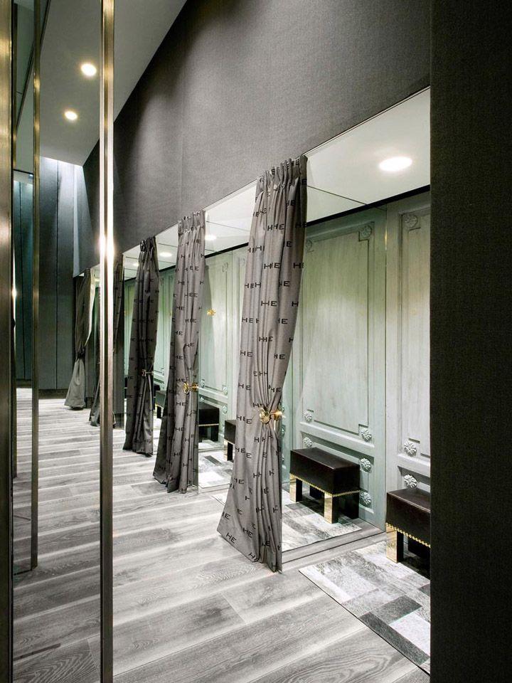 3d Room Interior Design: 32 Best Fitting Rooms Images On Pinterest