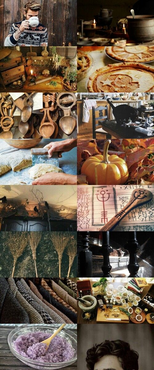 Male Witch Kitchen