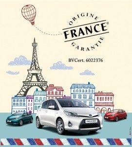 La Yaris labellisée Origine France Garantie.  Ben si c'est made in France, on achète ! Allez hop, les annonces ici : http://www.auto-selection.com/toyota-yaris/occasion-voiture.html