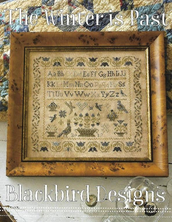 "BLACKBIRD DESIGNS ""The Winter Is Past"" 