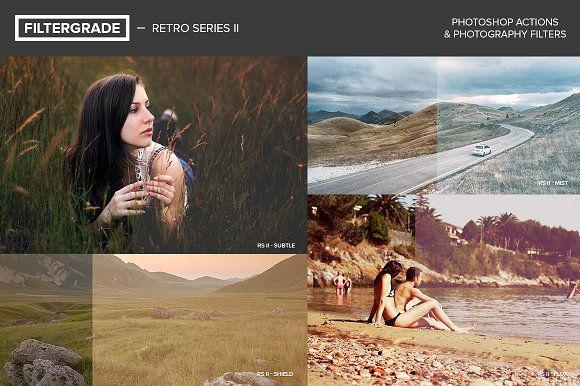 FilterGrade Retro Series II by FilterGrade on @creativemarket