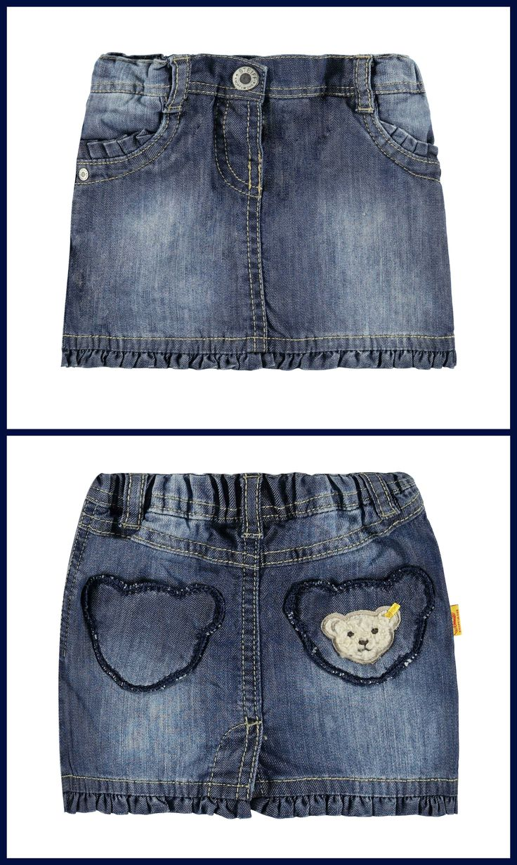 Denim Skirt For Toddlers Girls