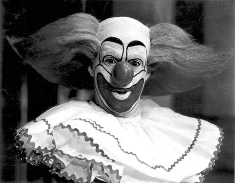 "Bob Bell Actor | Robert ""Bob"" Bell as Bozo the Clown in 1967."