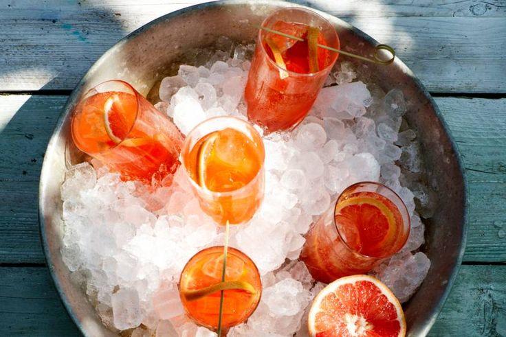 Tuinstoel, ogen dicht, slokje van dit waanzinnige drankje en waan je in Italië.- recept - Allerhande