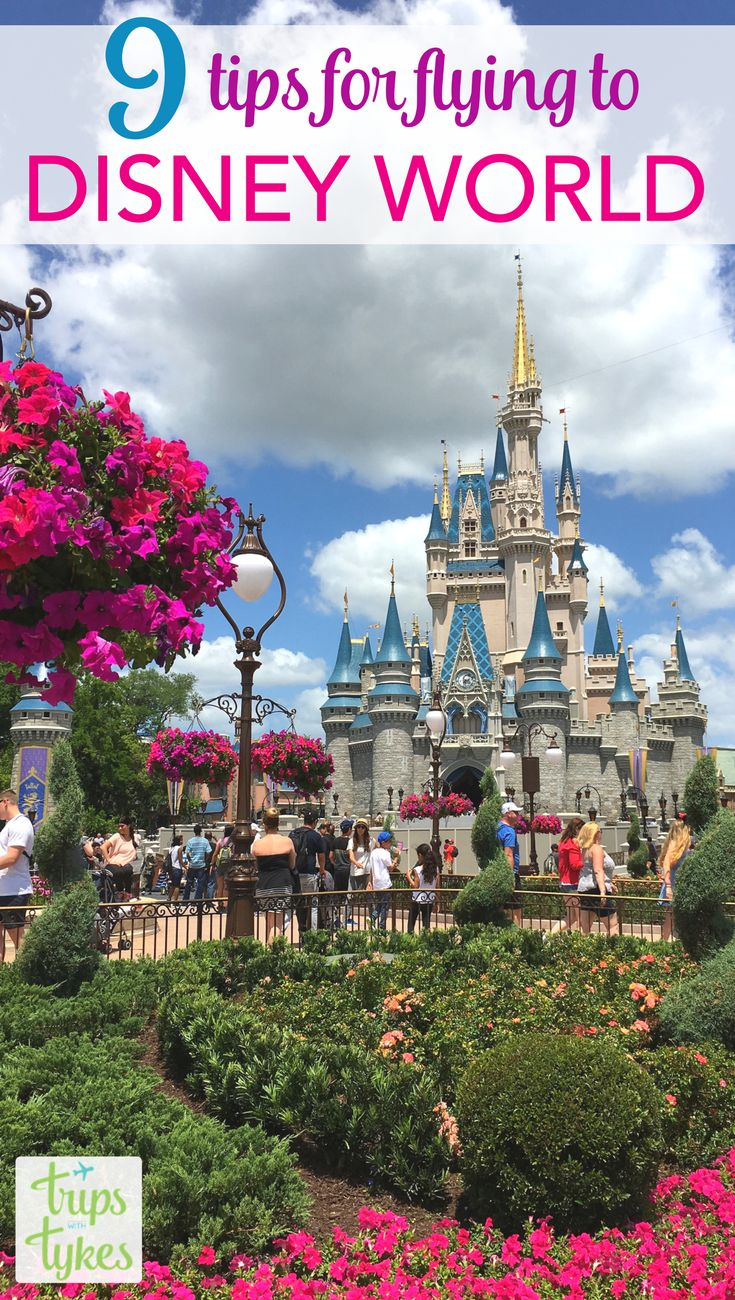 Top Tips for Flying to Walt Disney World - Planning to travel by air to Orlando to visit Mickey? Get all the details to make your flight and ground transportation a success. MCO airport tips, Magical Express, rental cars, and more. #disneyworld #disney #MCO #orlando #airtravel