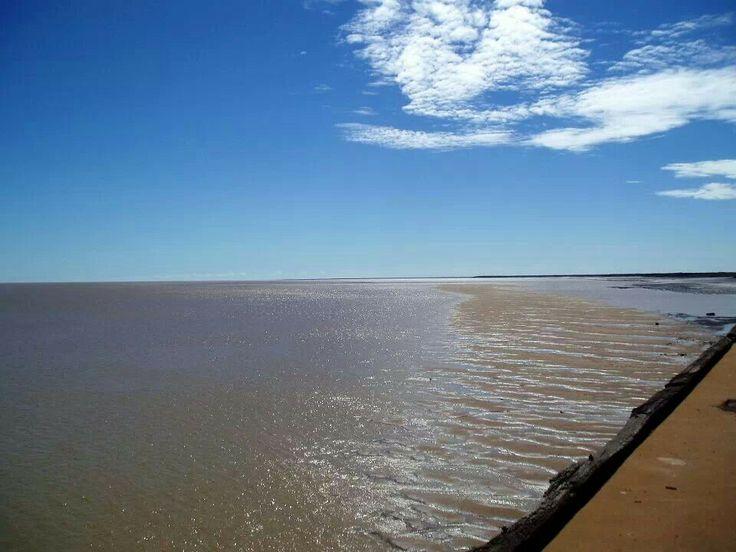 To be seen, the massive tides @ Derby Wharf Western Australia by Amanda Paul