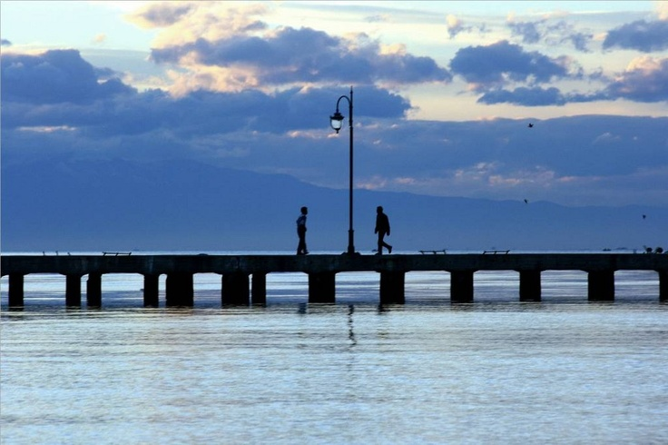 strolling at Peraia promenade, just a breath away from the city of Thessaloniki