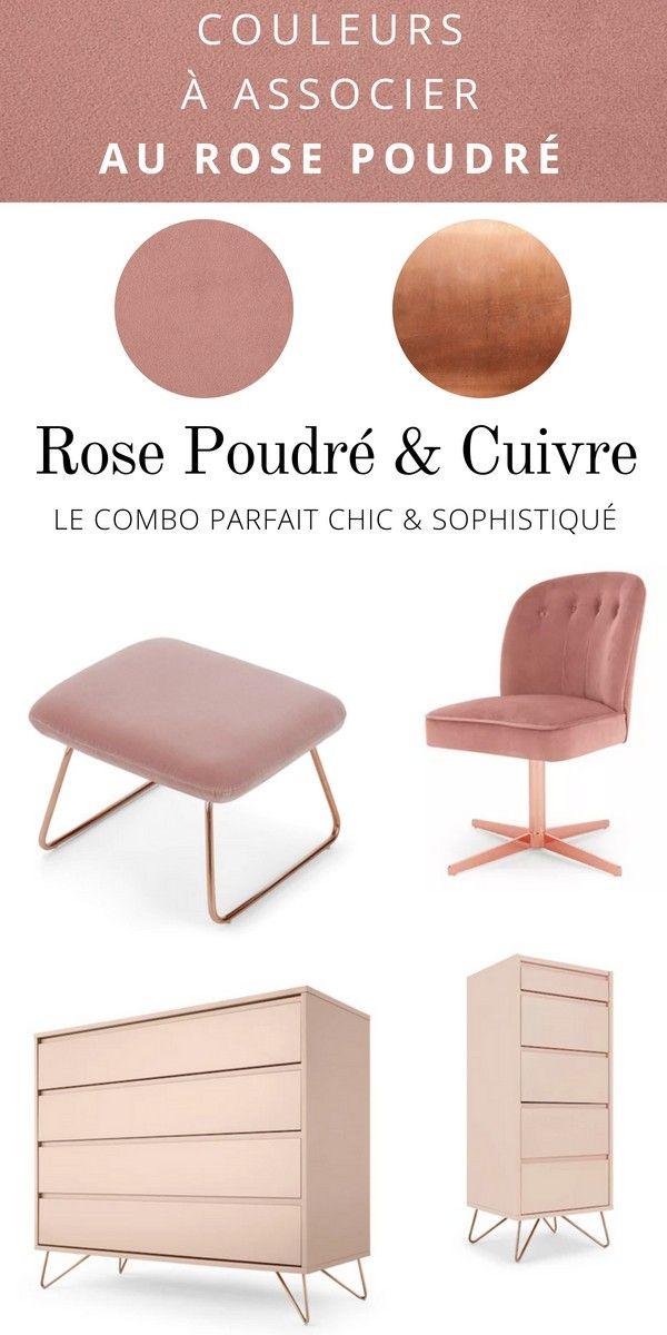 2019 BureauVelours Rose En De Poudré Et MargotChaise Cuivre CxBrdQshot