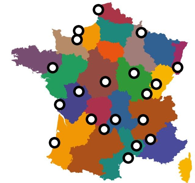 """In the spirit of summertime travel, the Embassy of France has put together an interactive map on hidden corners of French tourism. Learn about exciting attractions throughout France like Europe's tallest sand dune, a reconstructed Roman camp, and the """"Colosseum of Nature."""" Discover a France you never knew."""
