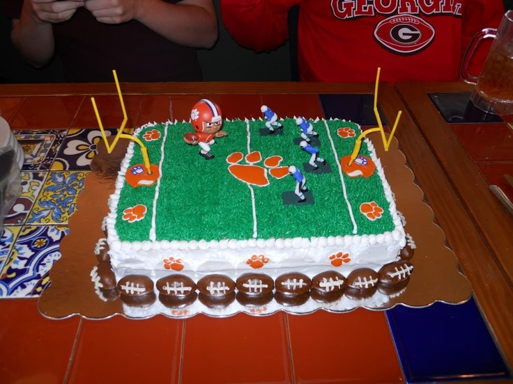 Best CLEMSON CAKES Images On Pinterest Clemson Tigers - Clemson birthday cakes