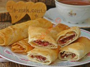 Fırında Paçanga Böreği Resimli Tarifi - Yemek Tarifleri