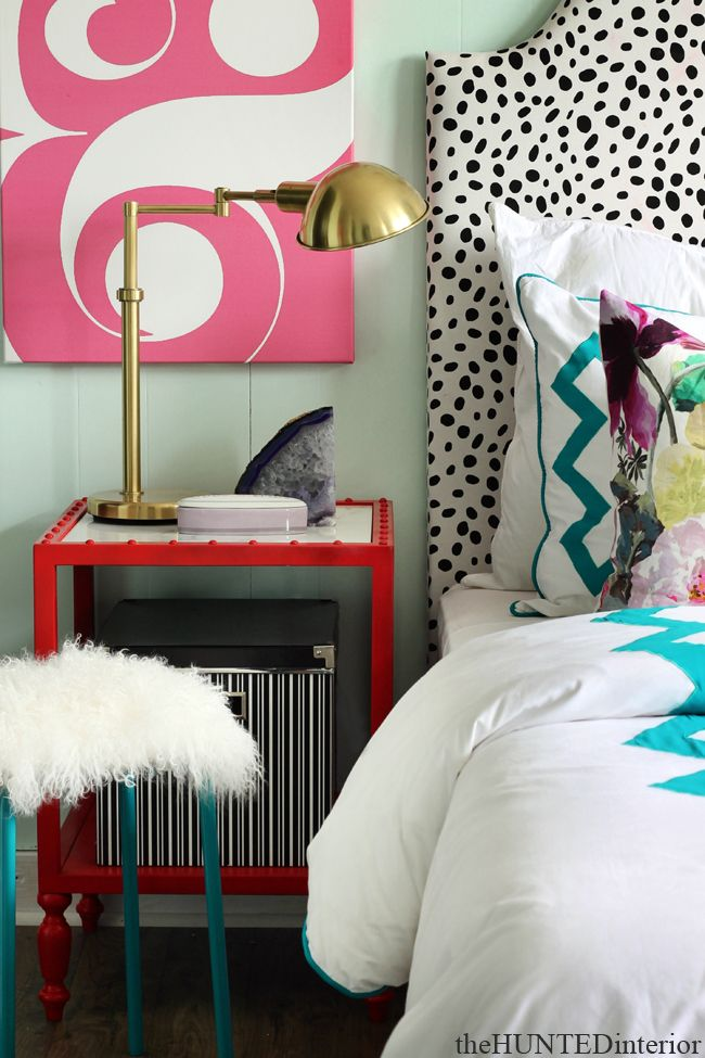 inspiration for an eclectic teen girls room the hunted interior room service atlanta room reveal
