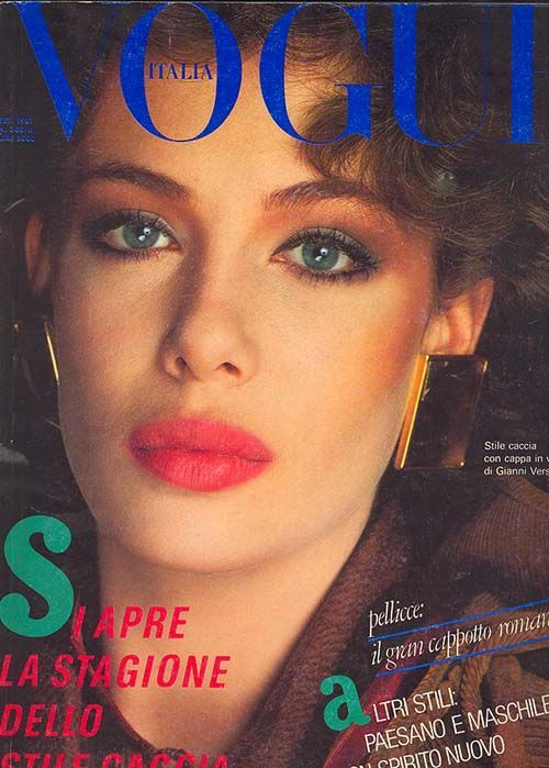 Kelly LeBrock 1981 Italian Vogue