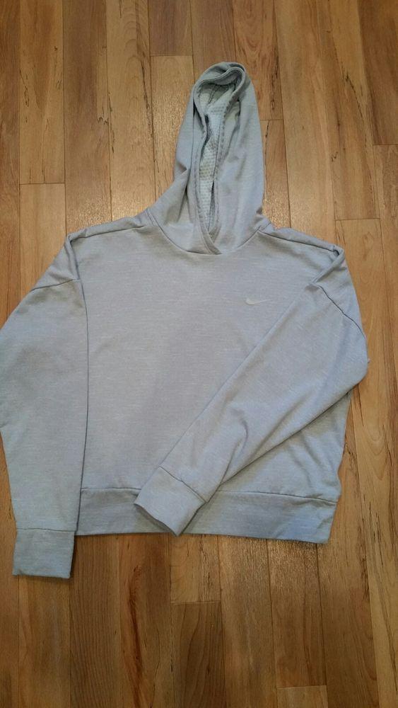 88c79377573e Nike Dri Fit Gray Hoodie Women s XS  fashion  clothing  shoes  accessories   womensclothing  activewear (ebay link)