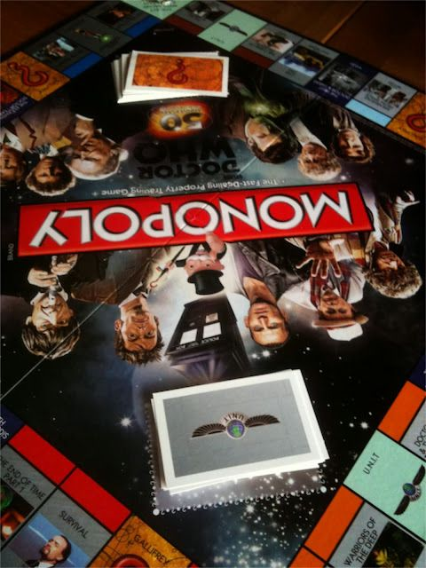 Dr Who 50th Anniversary Monopoly