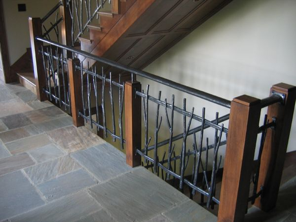 Custom Ironwork Railing Design Stair Railing Metal