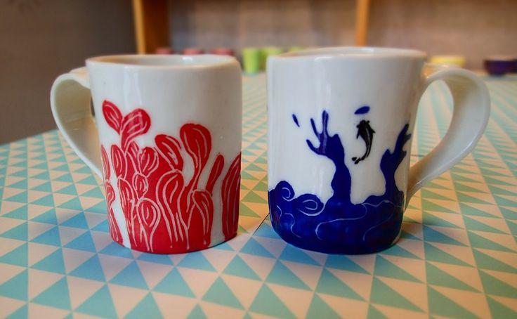 Water in the cup / De l'eau dans la tasse - Un Hibou dans la Tasse ©