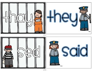 sight words that don't follow spelling rules