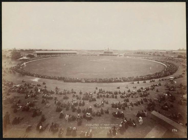 The Sydney Cricket Ground SCG in 1892. •National Library of Australia•