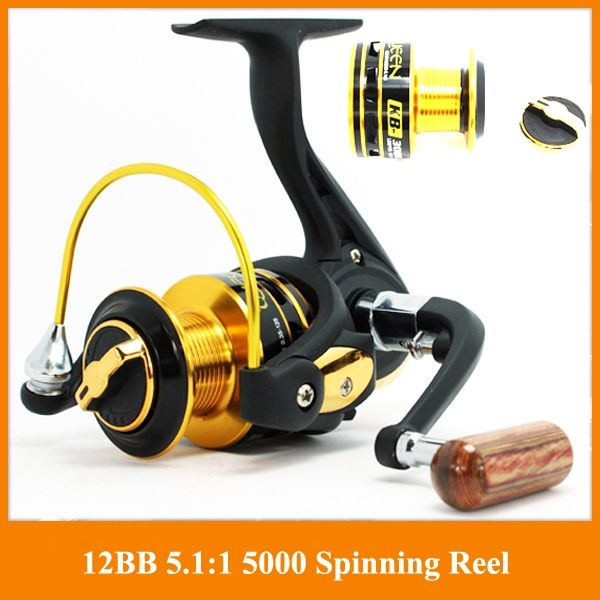 33.68$  Buy here - http://ali3n0.shopchina.info/go.php?t=1993710719 - German technology 12bb 3000 4000 series spinning fishing reel big discount Fishing Reels hot sale for feeder fishing 33.68$ #buyonline