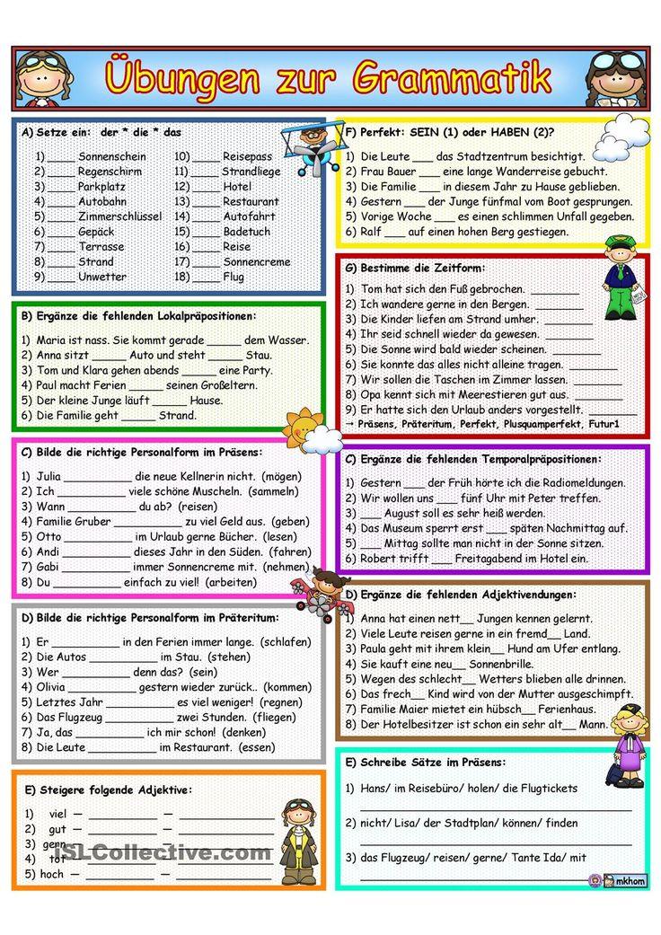 575 best Deutsch Sprache images on Pinterest | German language ...